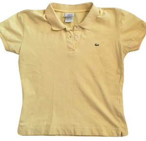 Lacoste T Shirt Yellow