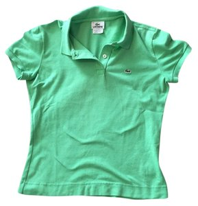 Lacoste T Shirt Green