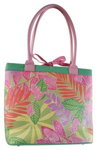 Lilly Pulitzer Tote in Pink and green