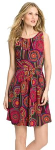 Trina Turk Fall Business Silk Belted Dress