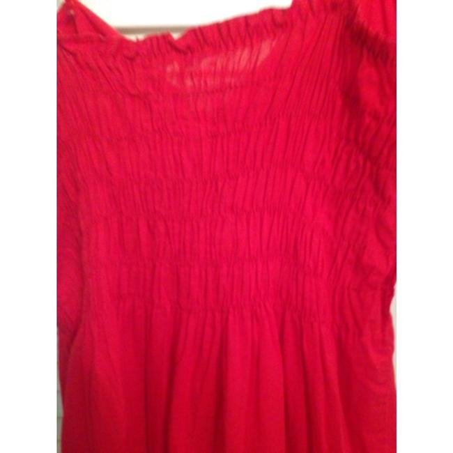 Locally made in Rome Italy short dress Red on Tradesy