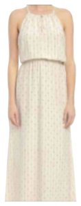 Ivory with print Maxi Dress by Lucky Brand