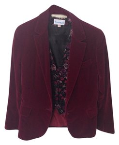 John Meyer of Norwich Burgundy Blazer