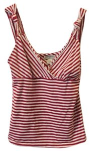 Banana Republic Top Red and white