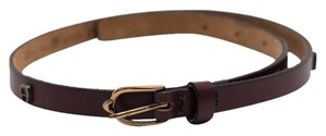 Etienne Aigner Etienne Aigner Classic Brown Leather Belt