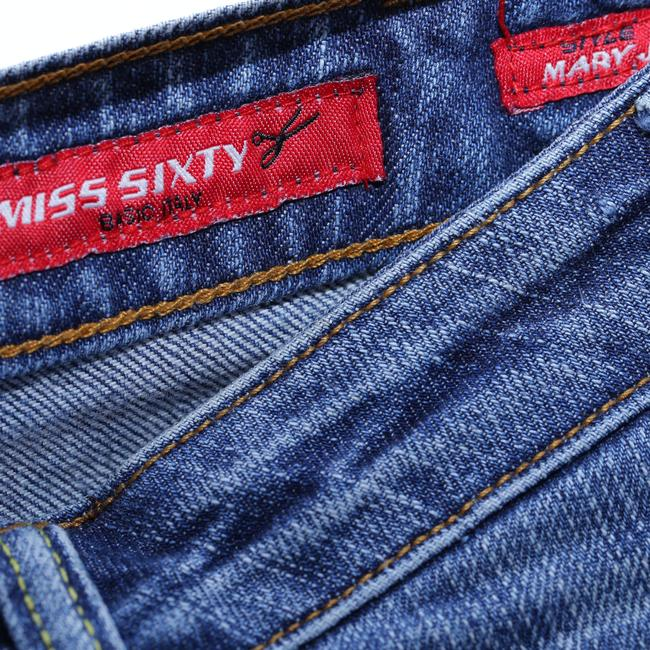 Miss Sixty Fade Could Be Flared Mid-rise Boot Cut Jeans-Medium Wash