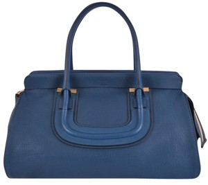 Chloé Chloe Chloe Chole Handbag Chloe Satchel in Blue