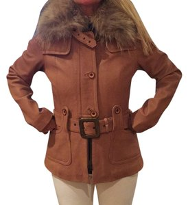 Mackage Camel Leather Jacket