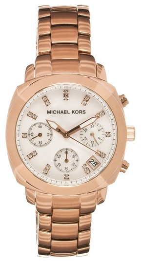 Preload https://item2.tradesy.com/images/michael-kors-michael-kors-rose-gold-stainless-steel-mop-dial-with-crystals-chronograph-watch-mk5336-5745451-0-0.jpg?width=440&height=440
