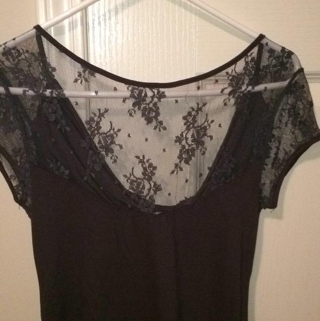 Express Top Charcoal grey