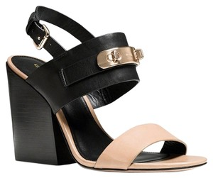 Coach Black/nude Sandals