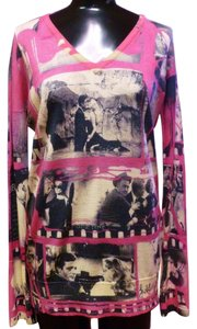 Blue Area New Movie Print Bellini Dolce Vita Sweater