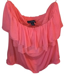 American Eagle Outfitters Top Coral