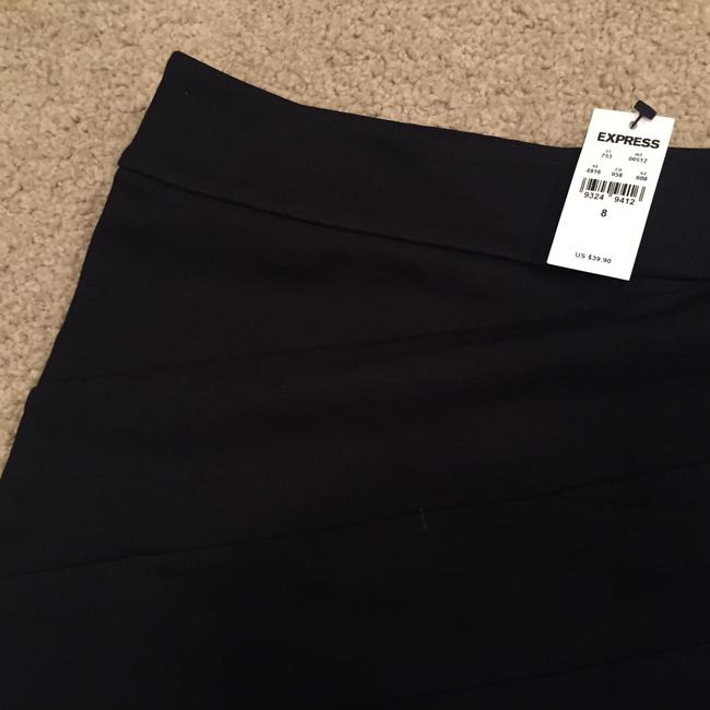 Express Date Night Night Out Formal Party Short Mini Skirt Black