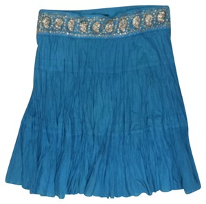 BCBGMAXAZRIA Skirt Blue