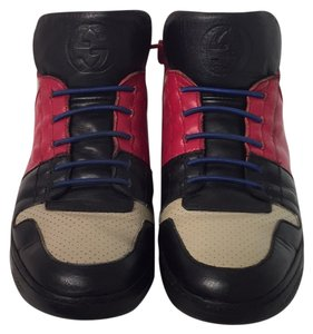 Gucci Navy blue, red, beige Athletic