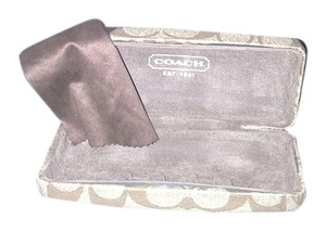 Coach COACH SUNGLASS CASE AND CLEANING CLOTH