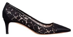 Tory Burch Satin Shoe Black Pumps