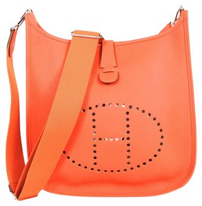 Hermès Hermes Taurillon Clemence Cross Body Bag