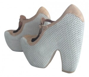 Jeffrey Campbell Beiges Wedges