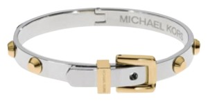 Michael Kors Two Tone Studded Bangle Bracelet