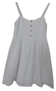 Band of Gypsies short dress White Summer Cooling Romantic on Tradesy