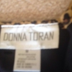 Donna Toran Top Black tan