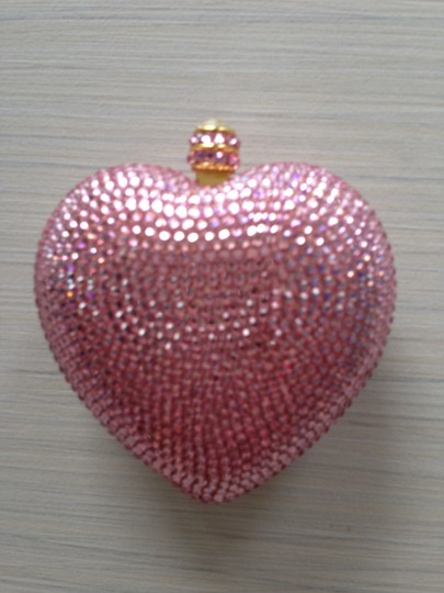 Other Crystal Pink Clutch