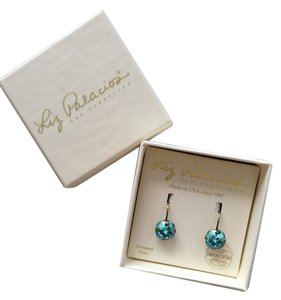 Liz Palacios Swarovski Blue earrings