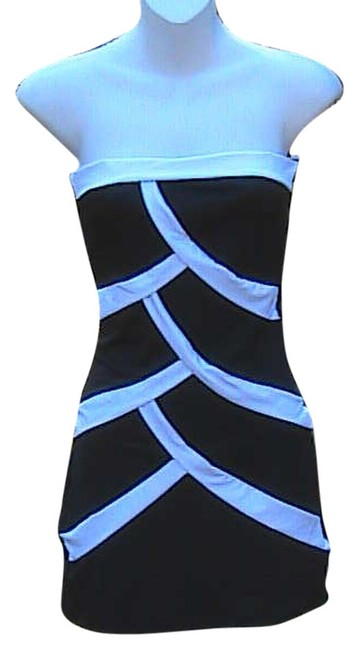 Other W/O Tag Strapless Cocktail Mini Dress