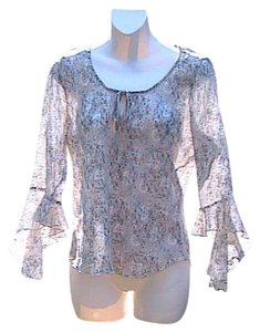 Giorgio Fiorlini Preowned Good Cindition Asymmetrical Top Floral