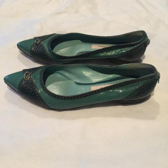 Marc Jacobs Teal/green/blue Flats