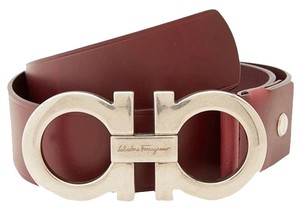 Salvatore Ferragamo Salvatore Ferragamo Double Gancini Adjustable Belt 679068 Big Buckle36