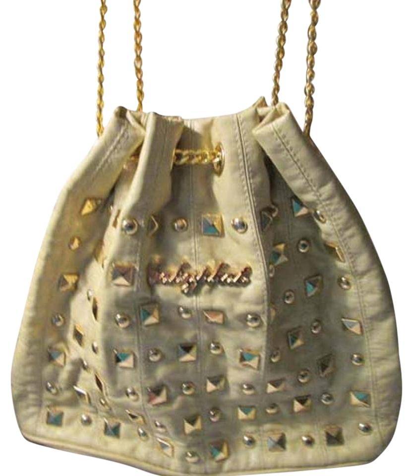 Baby Phat Color With Gold Design Hobo Bag On Sale 63 Off