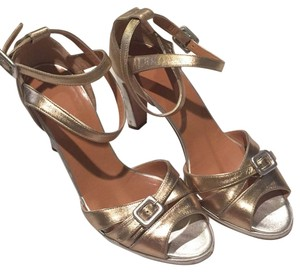 Herms Silver/gold Pumps