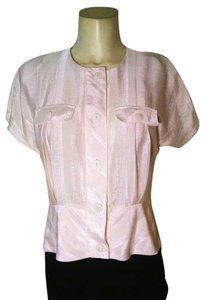 Bekunis Vintage Button Down Button Down Shirt ivory