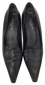 Pancaldi Leather Classic Italian Black Formal
