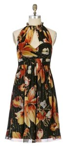 Anna Sui Silk Chiffon Anthropologie Dress
