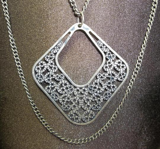 Other Antiqued Silver Necklace