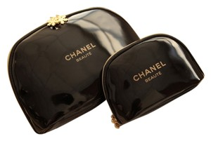 """Chanel Chanel """"Beaute"""" Cosmetic Bags, Set of 2"""
