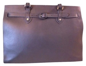 Jack Georges Tote in Gray Leather