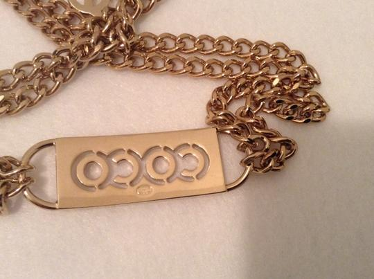 Chanel CHANEL '02P PINK CRYSTAL COCO BELT