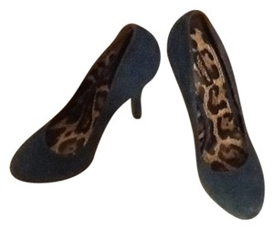 Dolce&Gabbana Blue suede Pumps