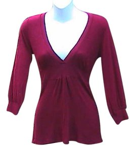 Toska Vintage Winter Top Maroon