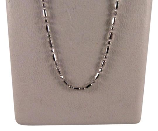 Preload https://item1.tradesy.com/images/14k-solid-white-gold-beads-chain-18-inches-necklace-5751595-0-0.jpg?width=440&height=440