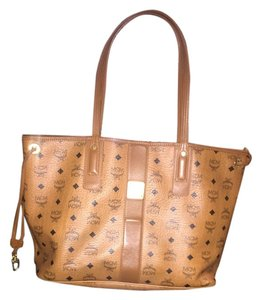 MCM Louie Louis Vuitton Fendi Fendi Fendi Brown Tote in Tan and black