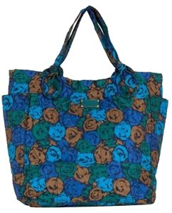 Marc Jacobs Tote in Blue/Green Pattern
