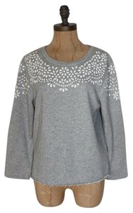Anthropologie Beaded Embellished Willow & Clay Sweatshirt Sweater