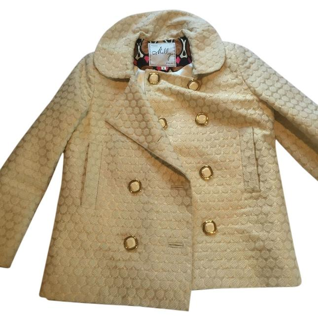 Preload https://item5.tradesy.com/images/milly-gold-pea-coat-size-6-s-5752759-0-1.jpg?width=400&height=650