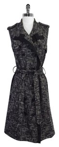 ADAM short dress Tweed Sleeveless Trench on Tradesy